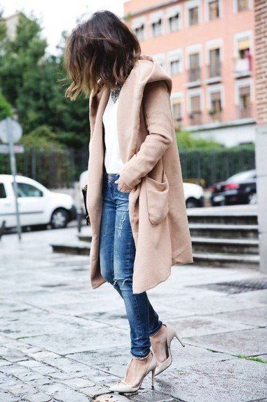 neutral and denim