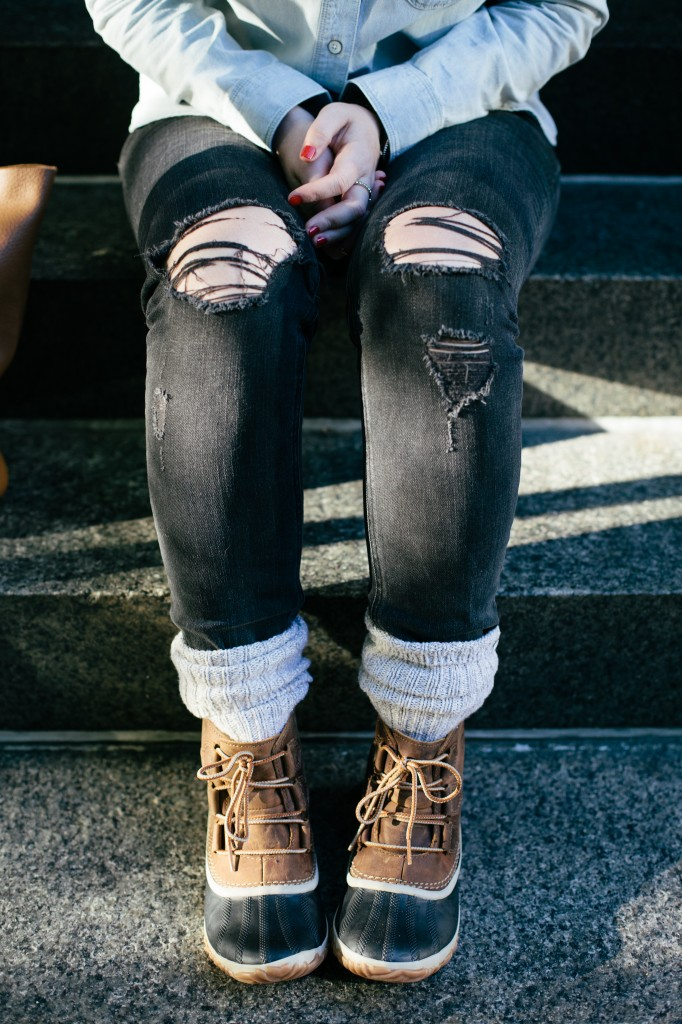 Sorel Boots I wit & whimsy