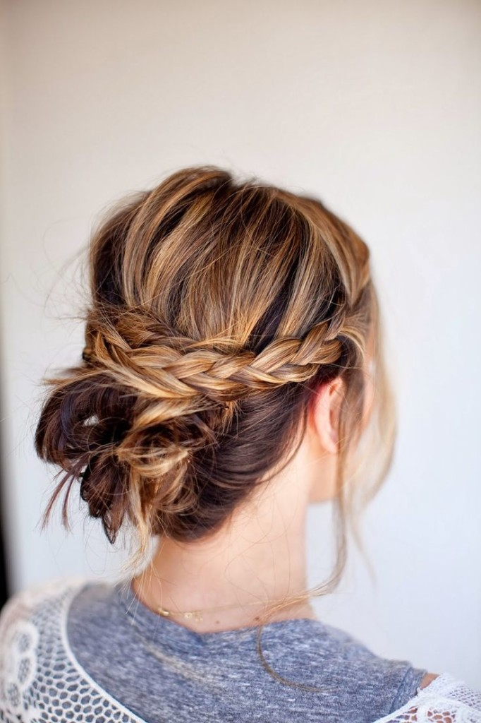 Braided Bun //