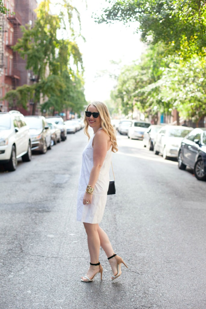wit & whimsy I meghan donovan I rag & bone white dress