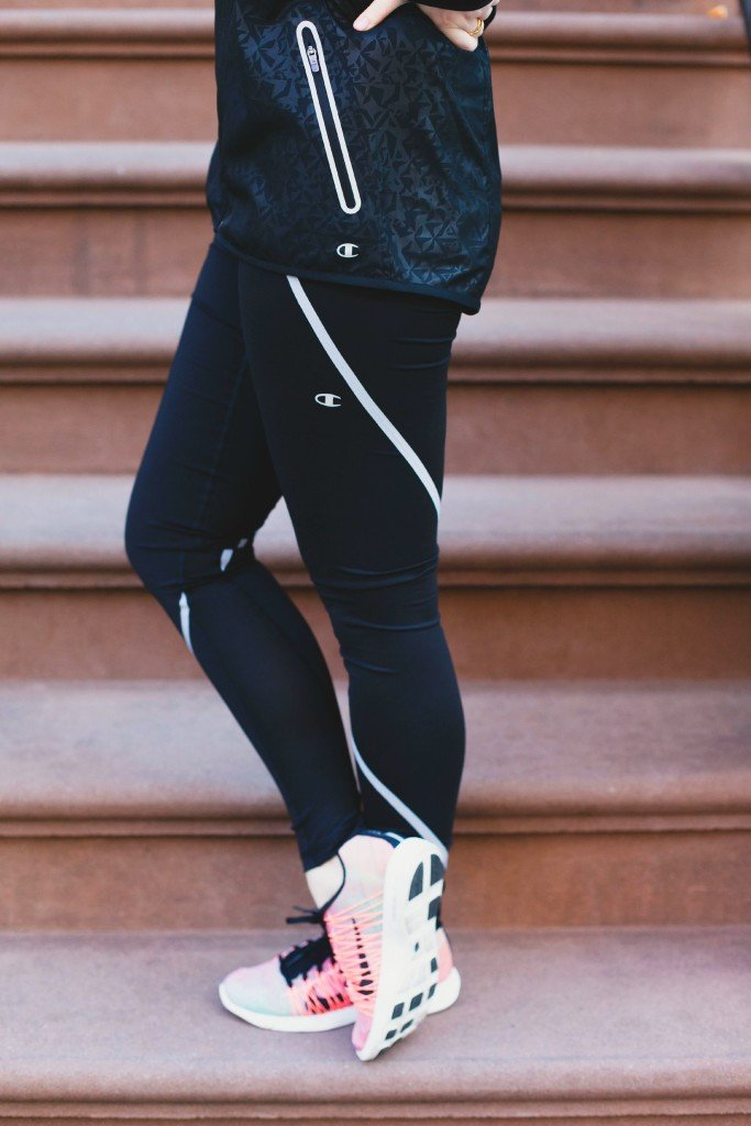 wit & whimsy I nike sneakers I champion pants