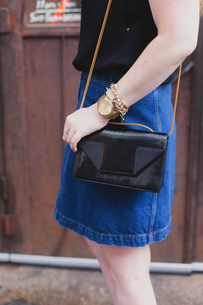 denim + saint Laurent I wit & whimsy
