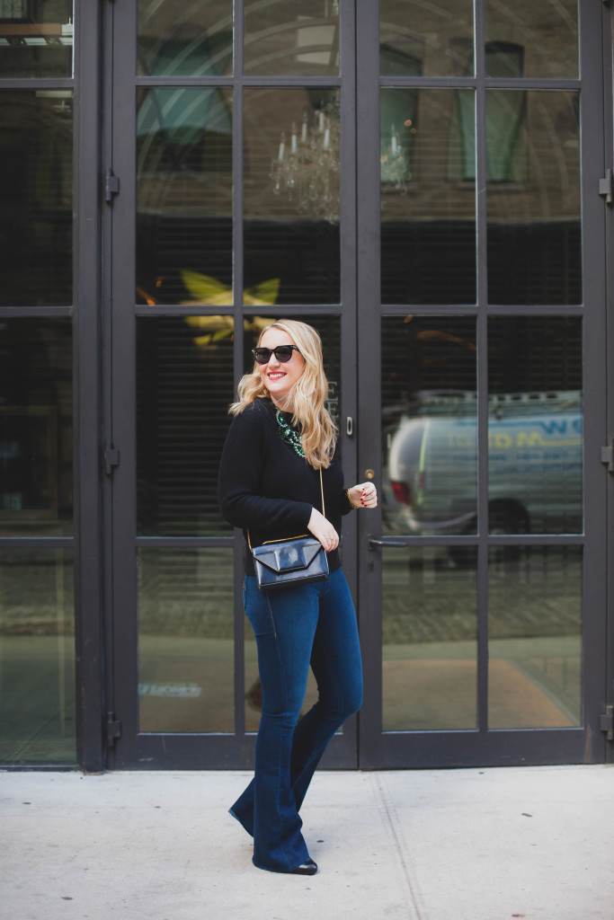 Flared Jeans + Fall Fashion I wit & whimsy