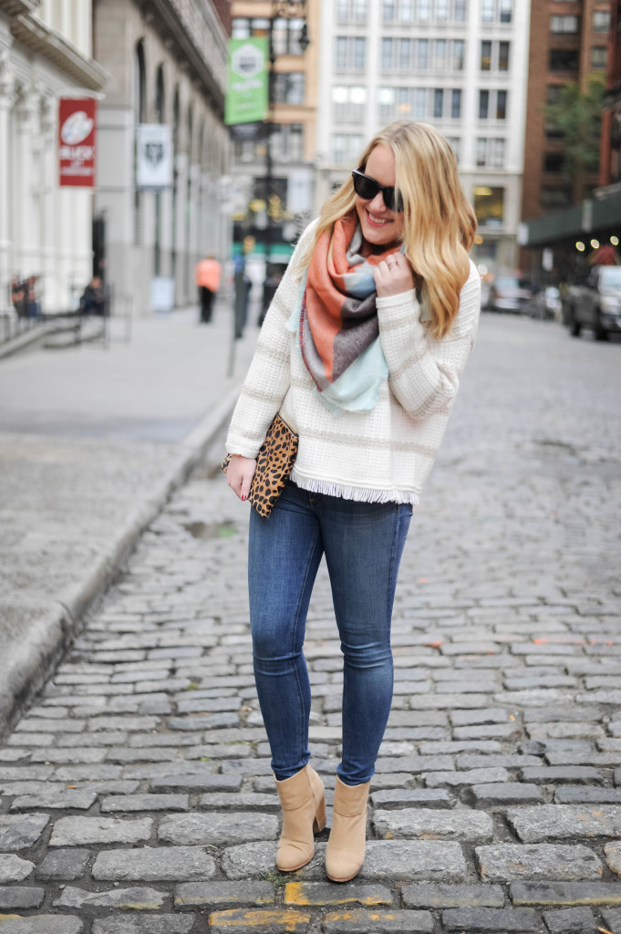 Rag & Bone Jeans and Boots I Madewell Sweater I wit & whimsy