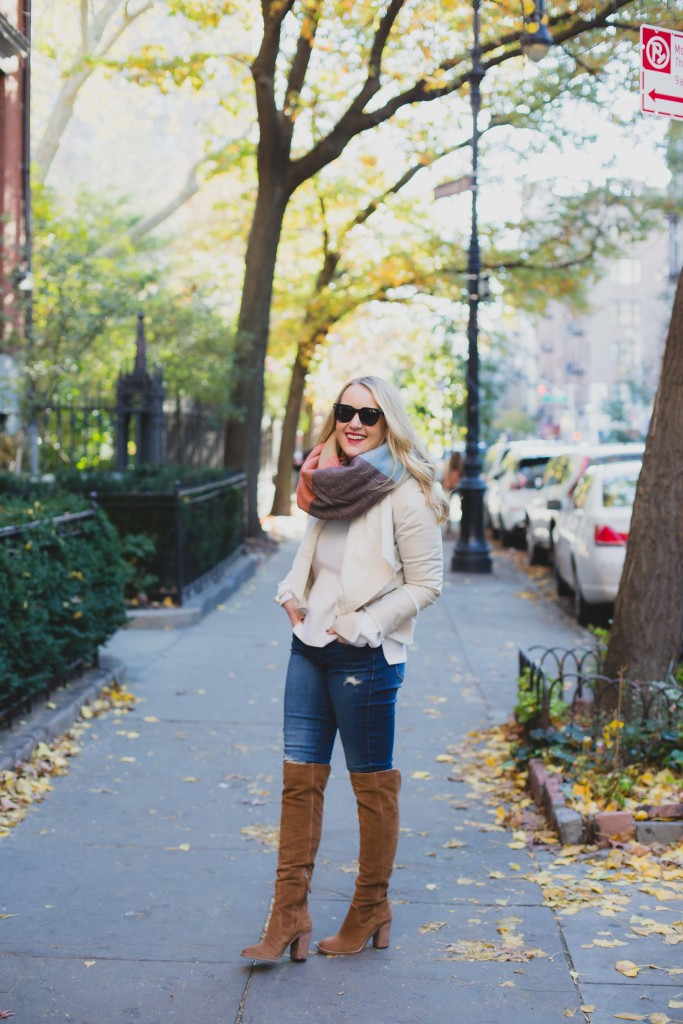 Everlane Sweater I Dolce Vita Boots I wit & whimsy