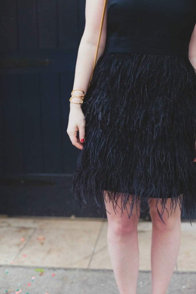 Feather Dress I wit & whimsy