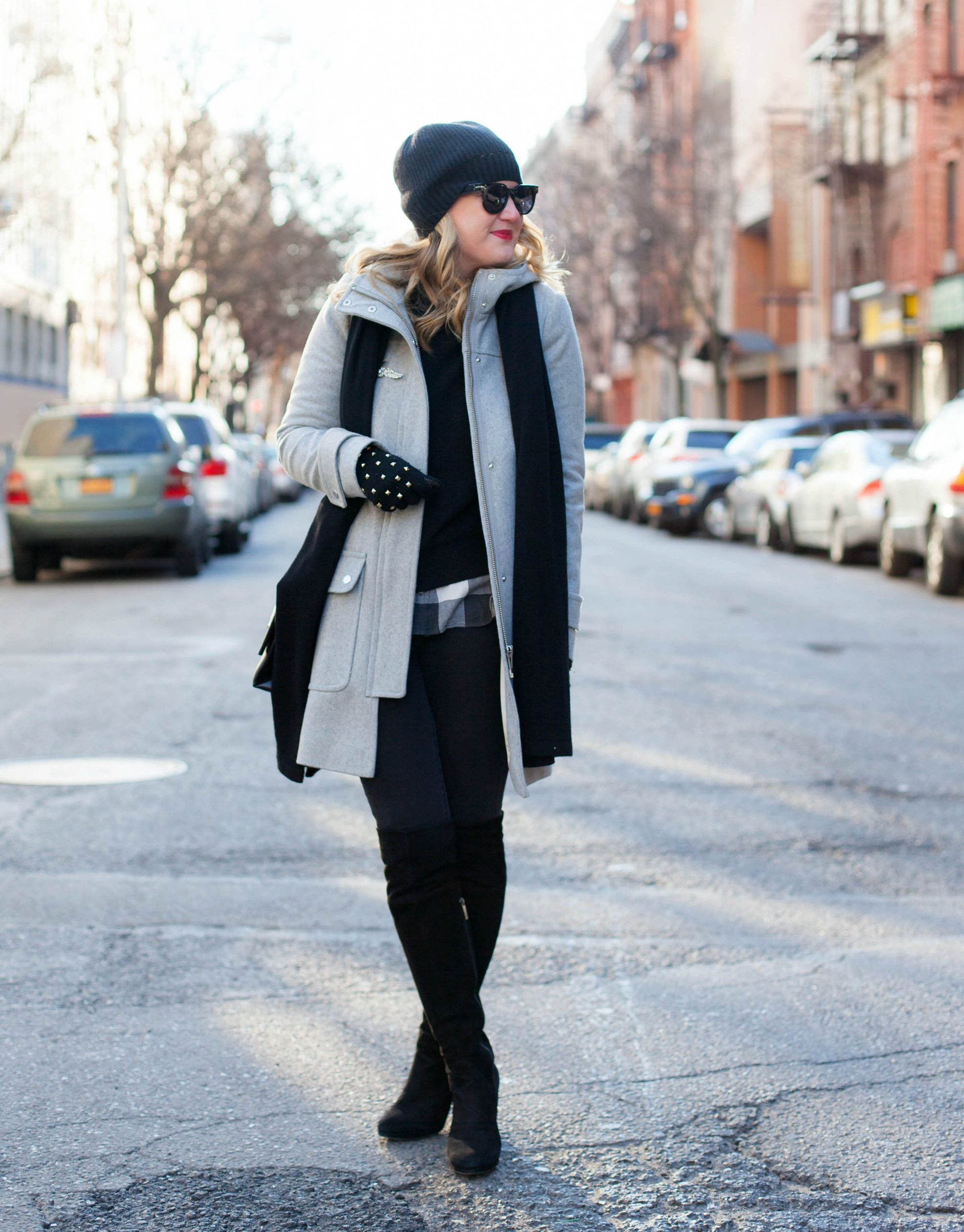 Gray and Black Layers