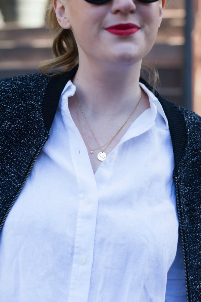 Layered necklaces //