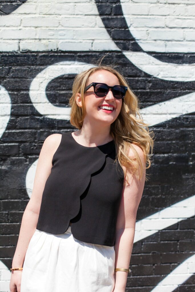 Scalloped Top I wit & whimsy I @meghandono