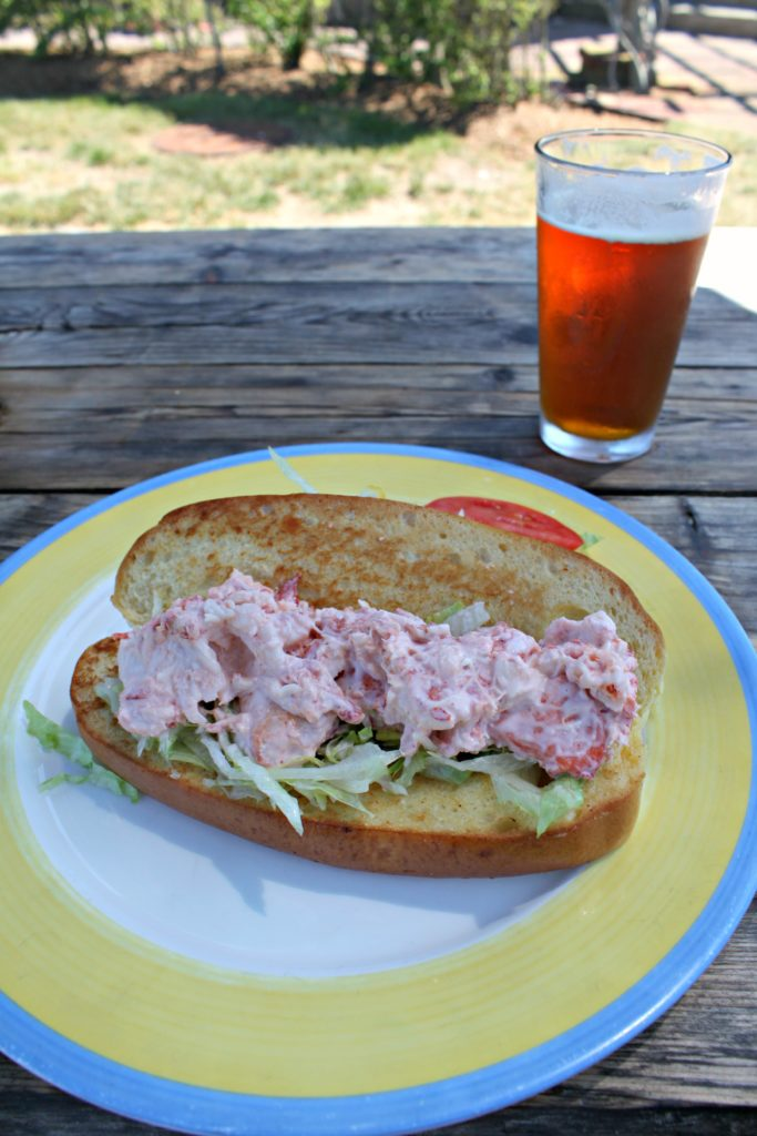 Nantucket Lobster Roll + Cisco Brew