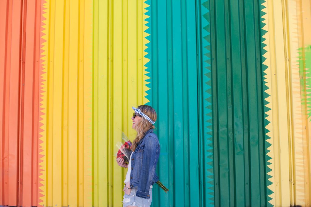Rainbow Wall I wit & whimsy