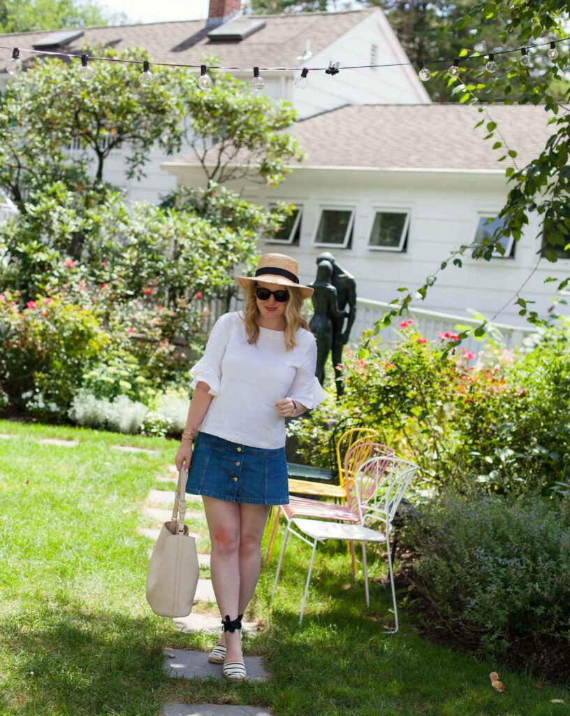 Hamptons Summer style I Club Monaco I H&M