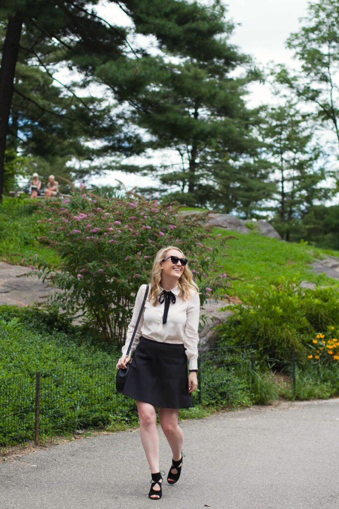 Kate Spade Bow Blouse I wit & whimsy
