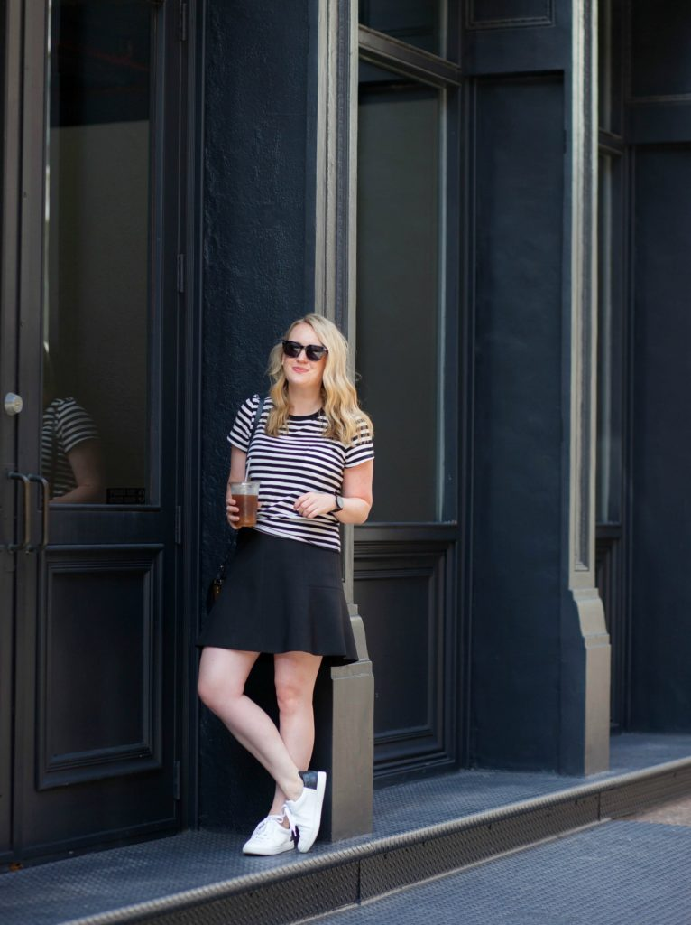Sporty Style in Tribeca