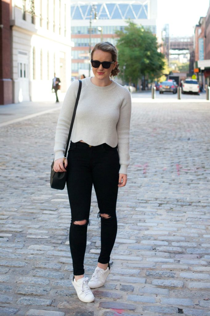 Scalloped Sweater I @meghandono I wit & whimsy