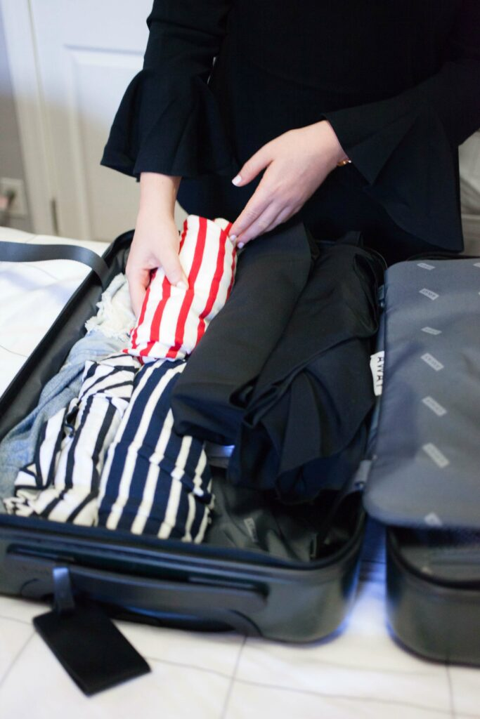 Packing tips from lifestyle blogger Meghan Donovan of wit & whimsy