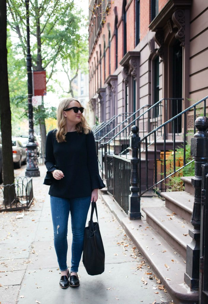 A travel outfit from lifestyle blogger Meghan Donovan of wit & whimsy I