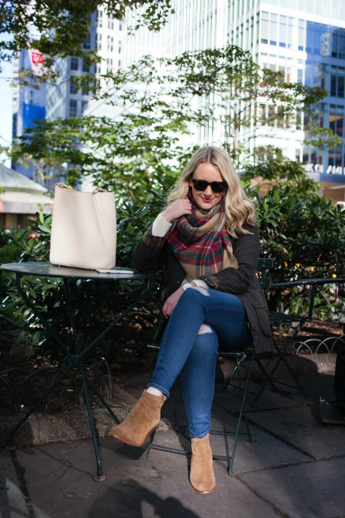 Classic Fall Outfit on Meghan Donovan of wit & whimsy