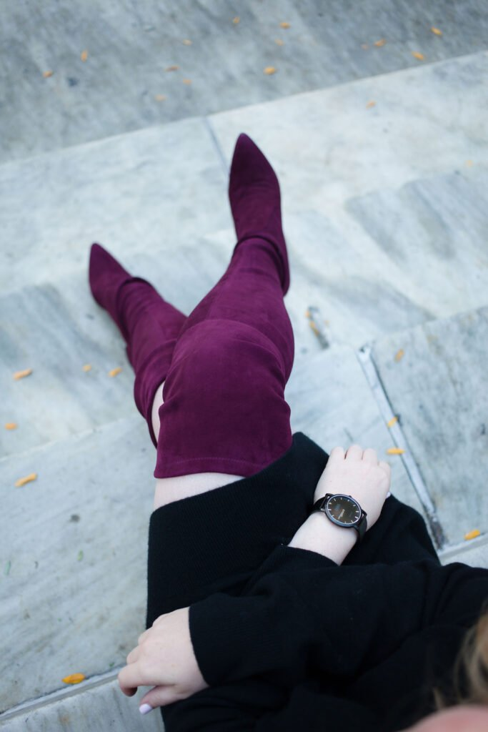 wit & whimsy I Bordeaux Boots