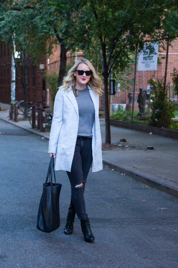 Monochromatic Dressing on lifestyle blogger Meghan Donovan of wit & whimsy