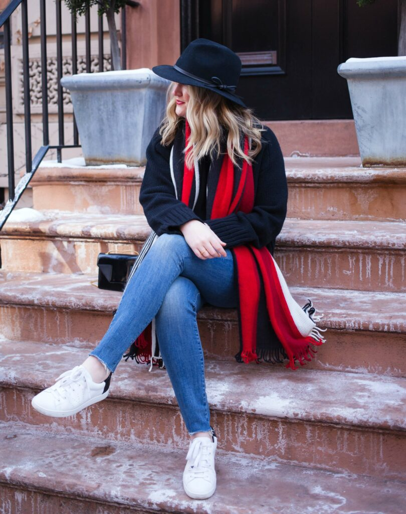 Jeans and Sneakers I wit & whimsy