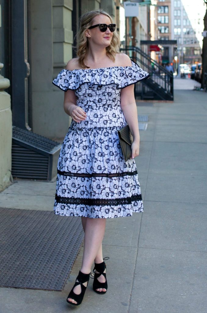 Nicholas Dress on Meghan Donovan of wit & whimsy
