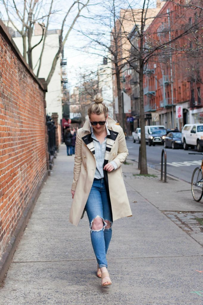 Spring Neutrals on Meghan Donovan of wit & whimsy