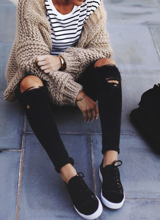 Stripes + Knit