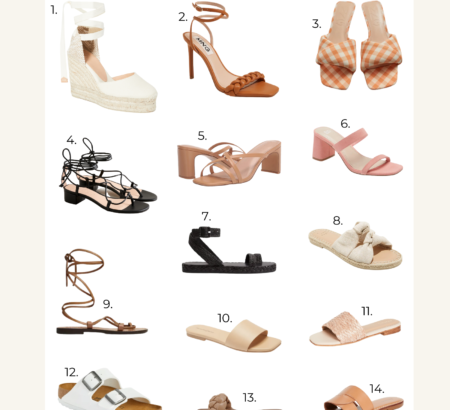 Budget Friendly Summer Shoes