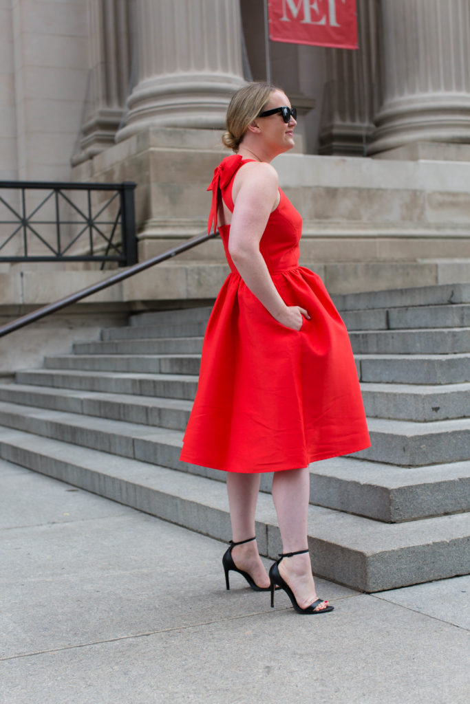 Meghan Donovan of wit & whimsy wears Kate Spade New York