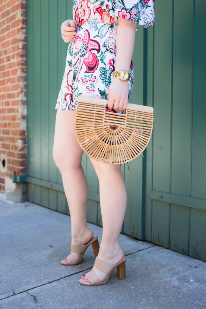 Cult Gaia Ark Bag I on Meghan Donovan of wit & whimsy