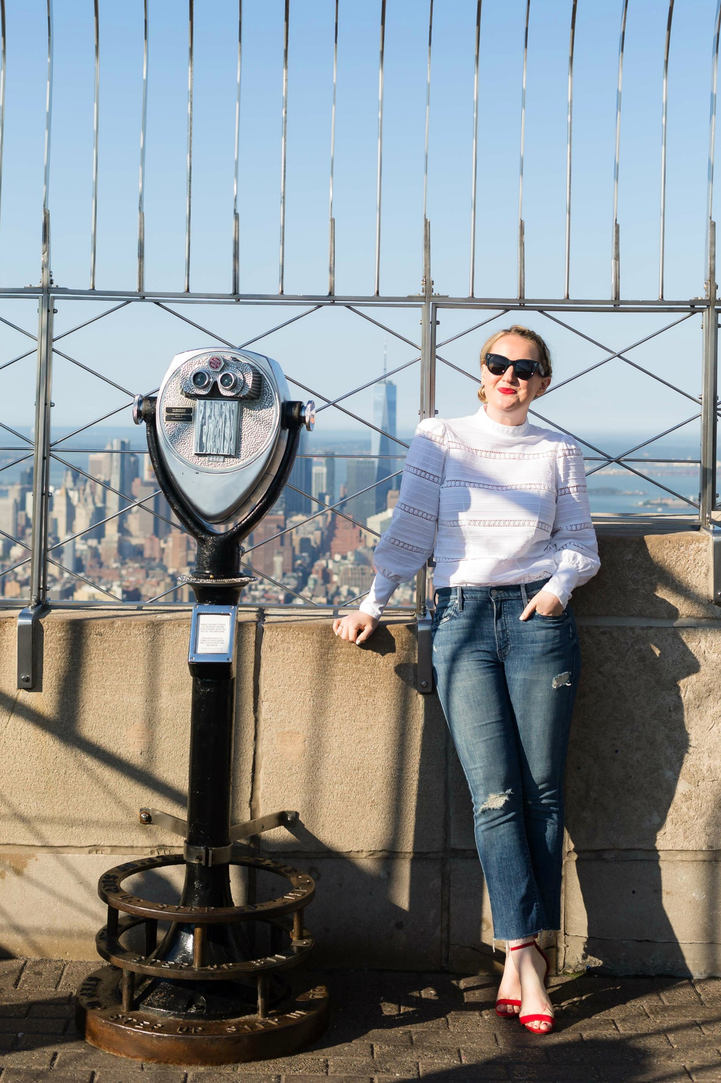 Meghan Donovan I Atop the Empire State Building