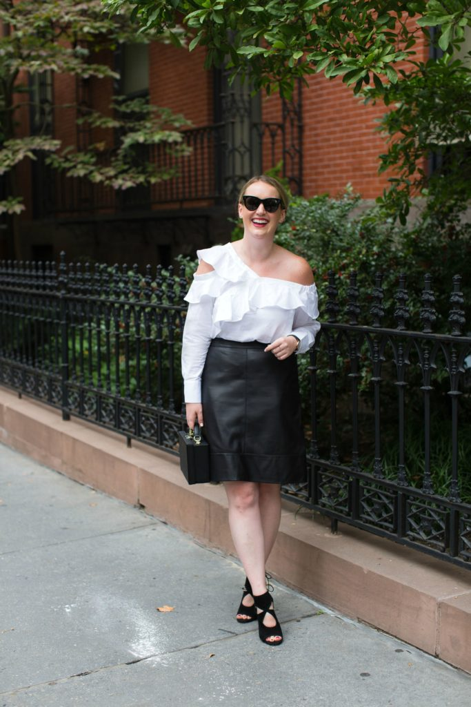 Meghan Donovan of wit & whimsy takes on Fall workwear