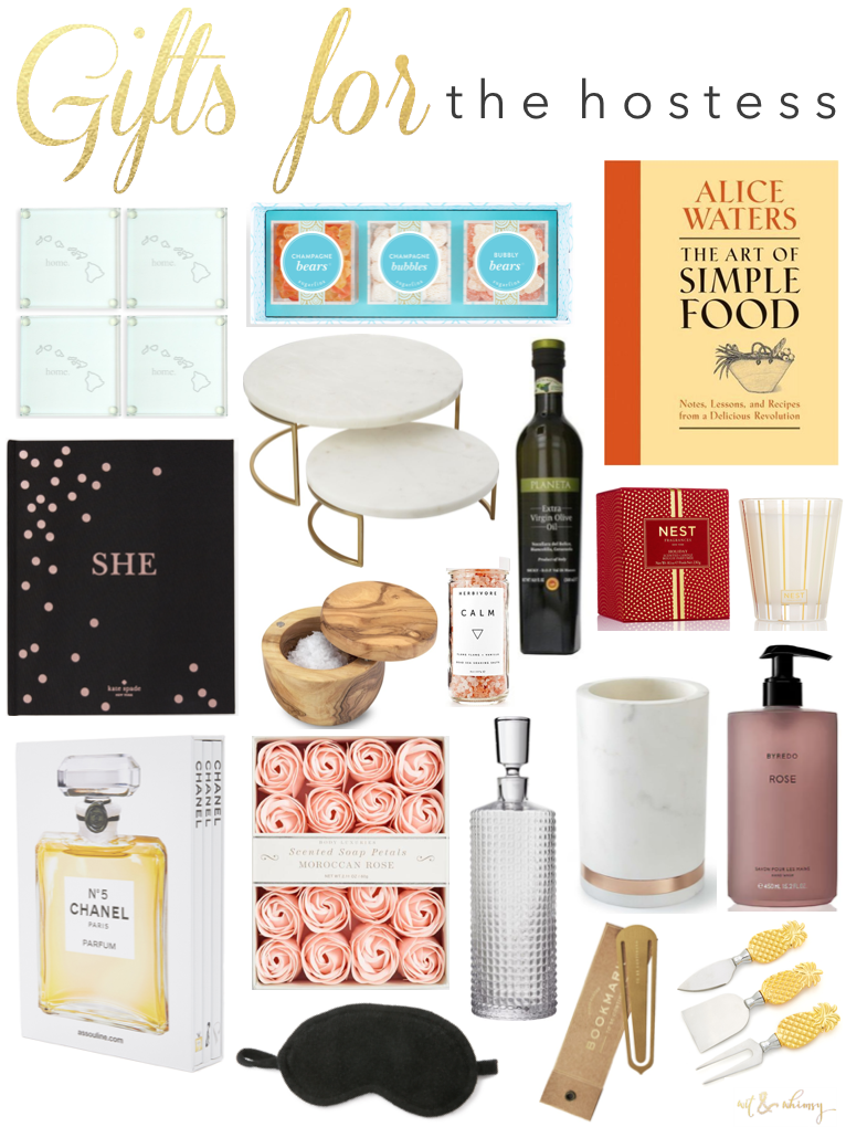 Holiday Gift Ideas for the Hostess I wit & whimsy