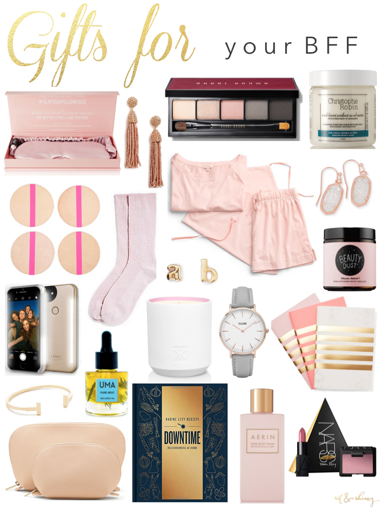 Holiday Gift Ideas for your BFF I wit & whimsy