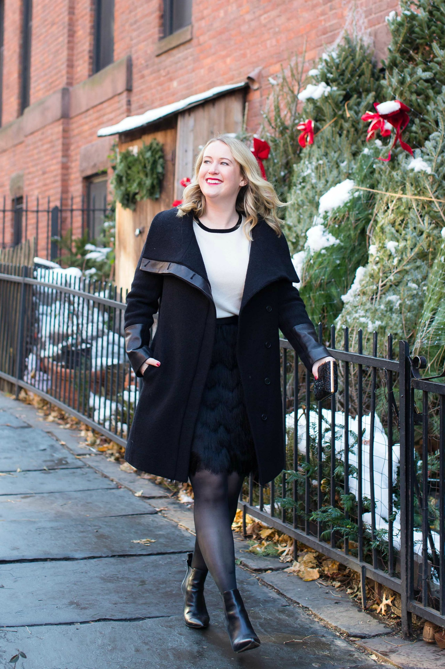 Classic Holiday Style on Meghan Donovan of wit & whimsy