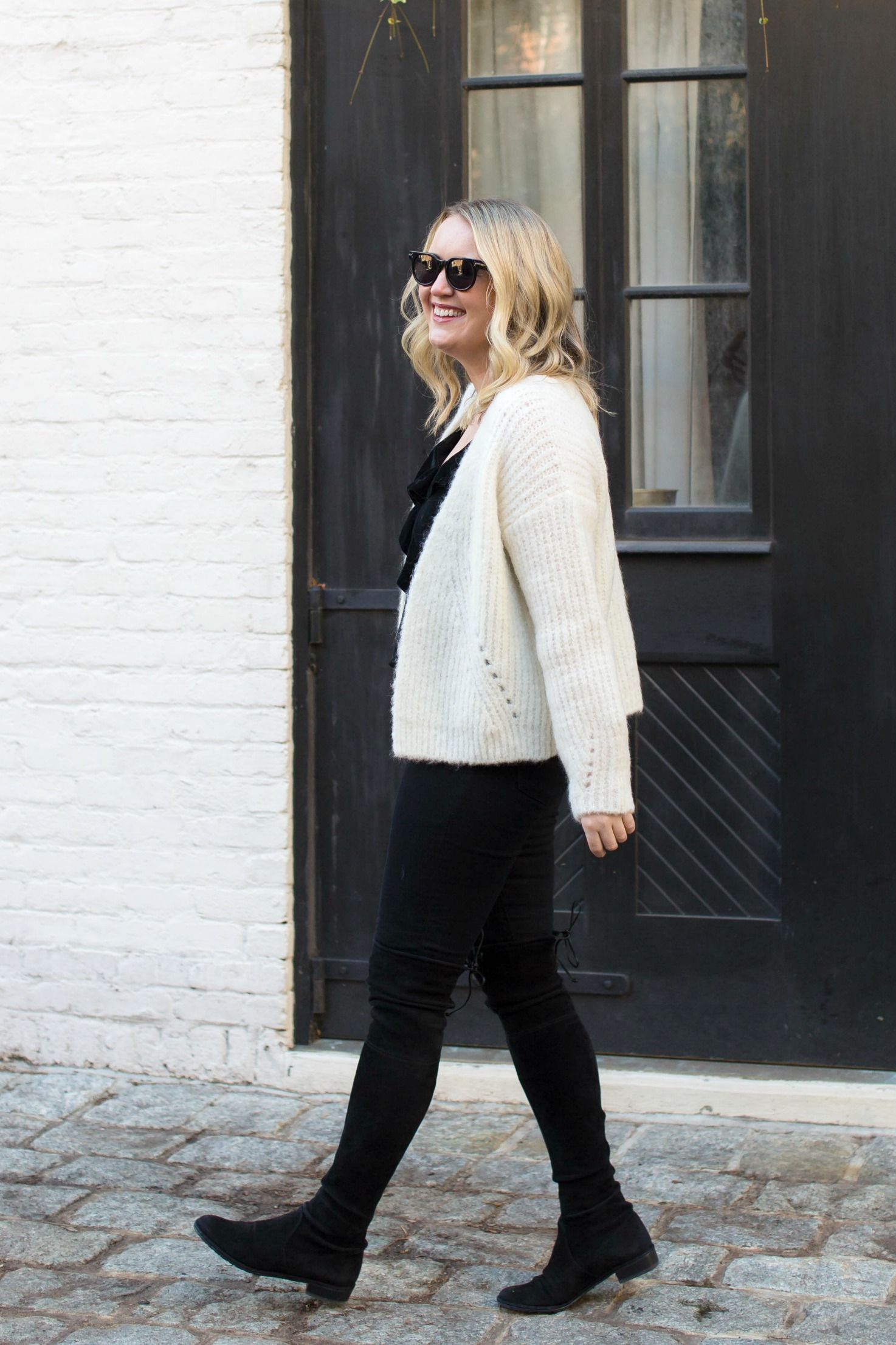 Sezane Sweater I on Meghan Donovan of wit & whimsy