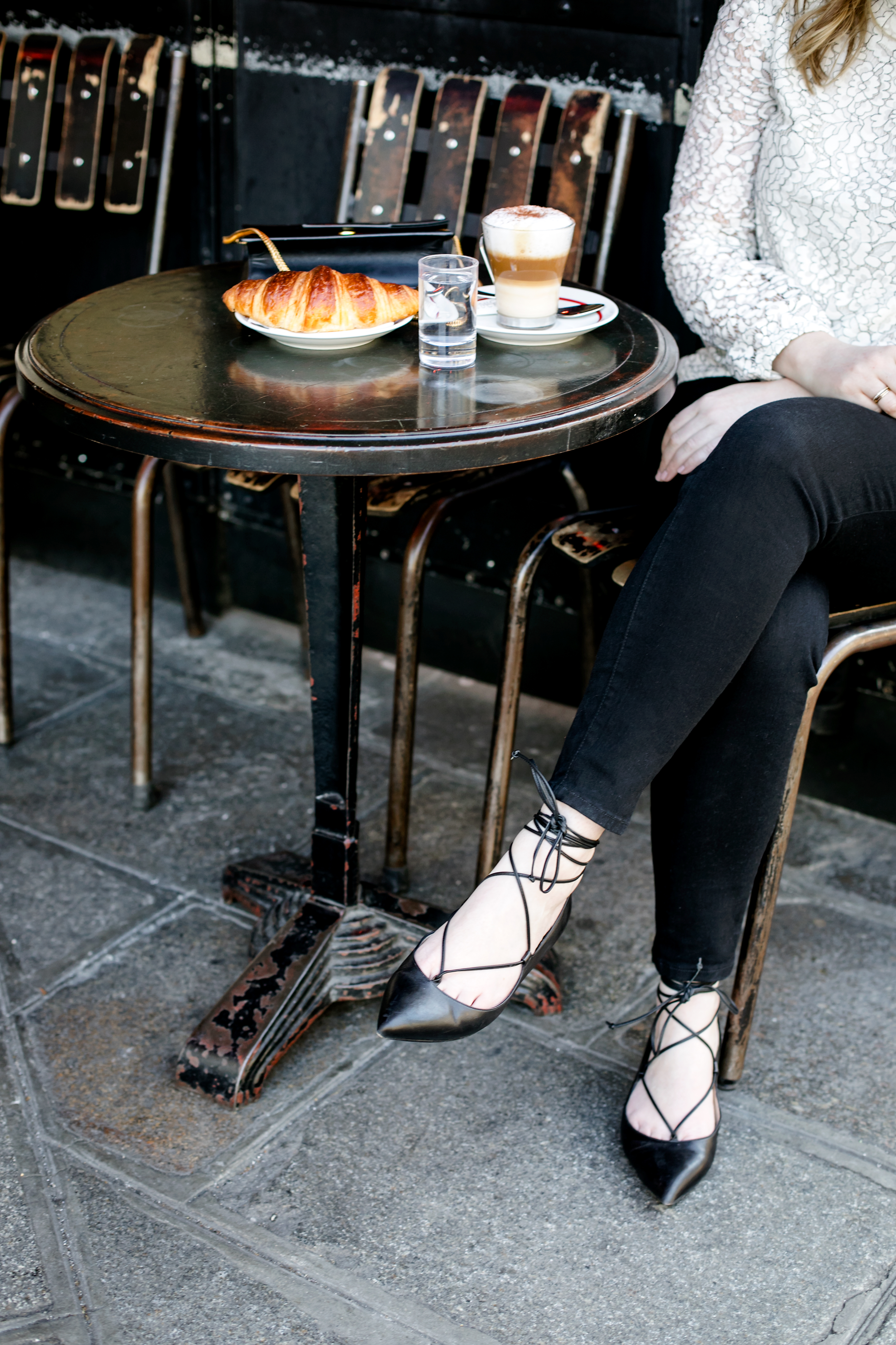 Lace up Flats I wit & whimsy