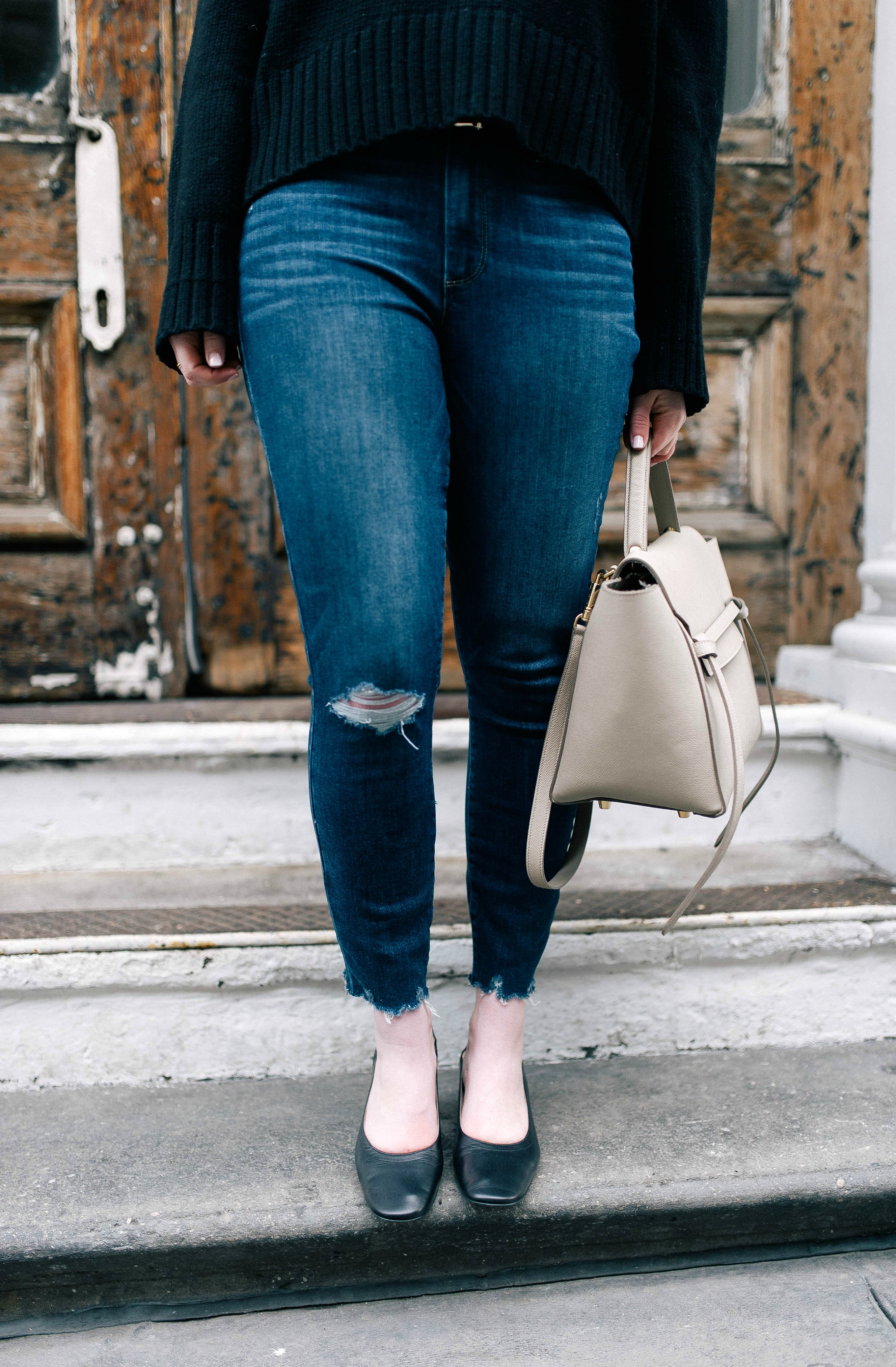 Distressed Denim I wit & whimsy