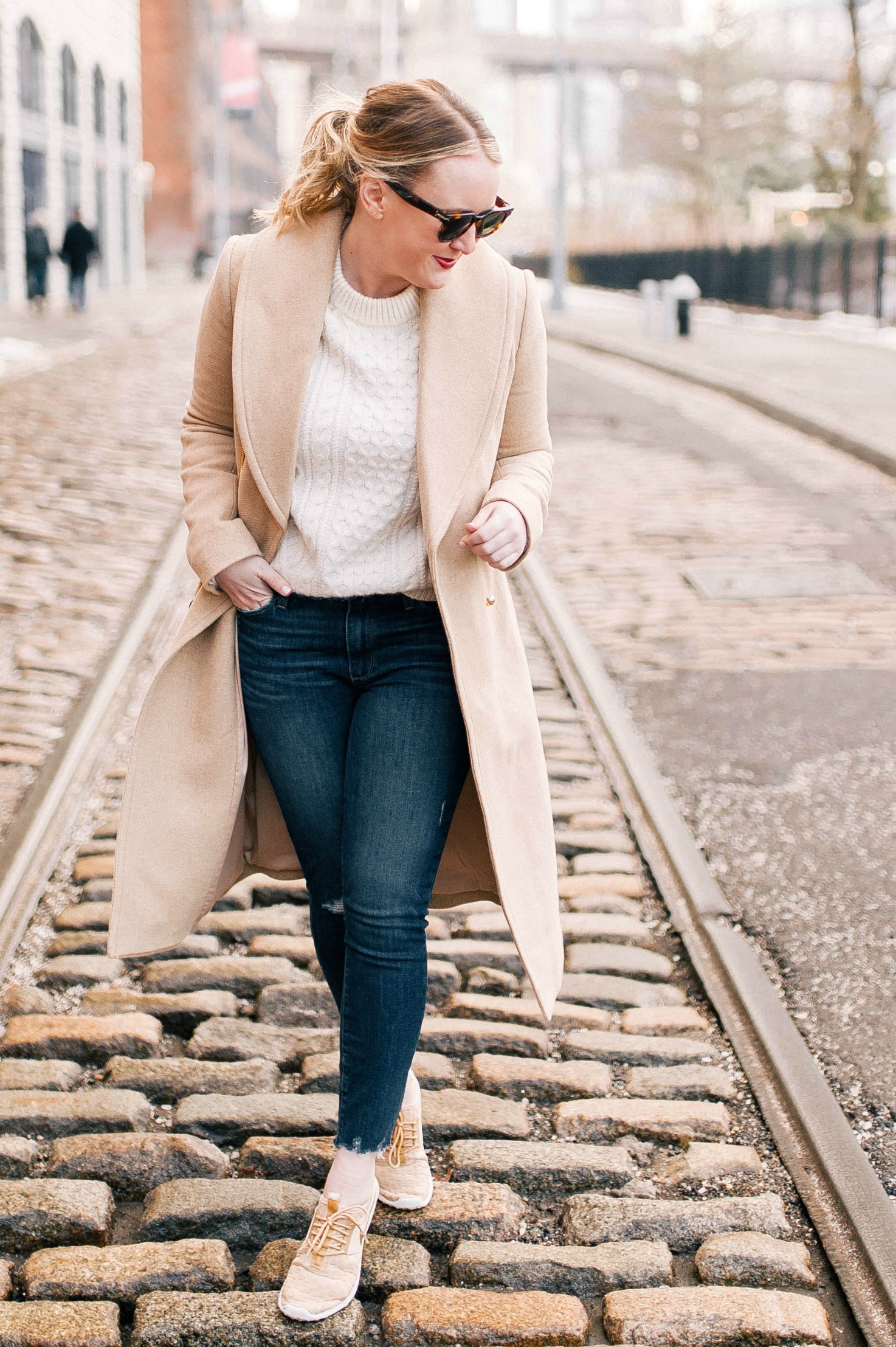 Camel Coat I wit & whimsy