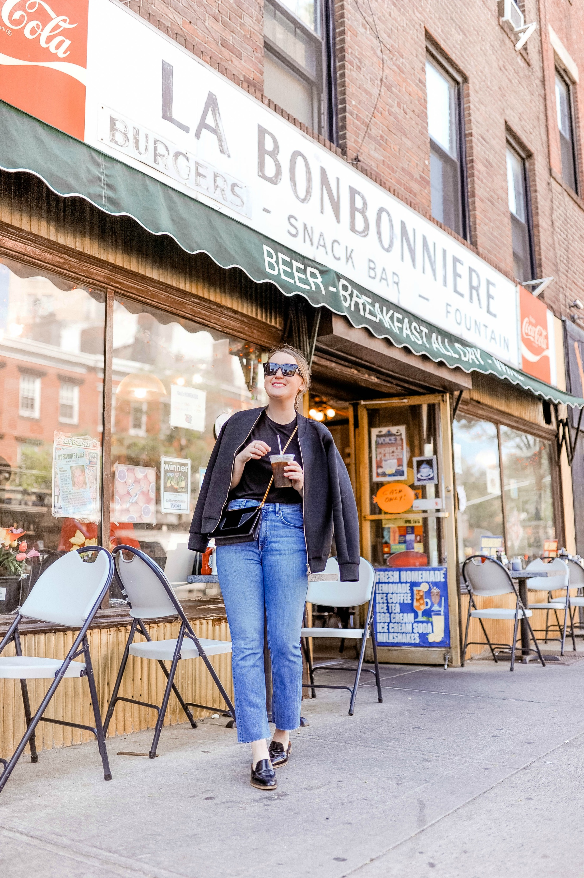 Bodysuit + Jeans + Mules on Meghan Donovan of wit & whimsy