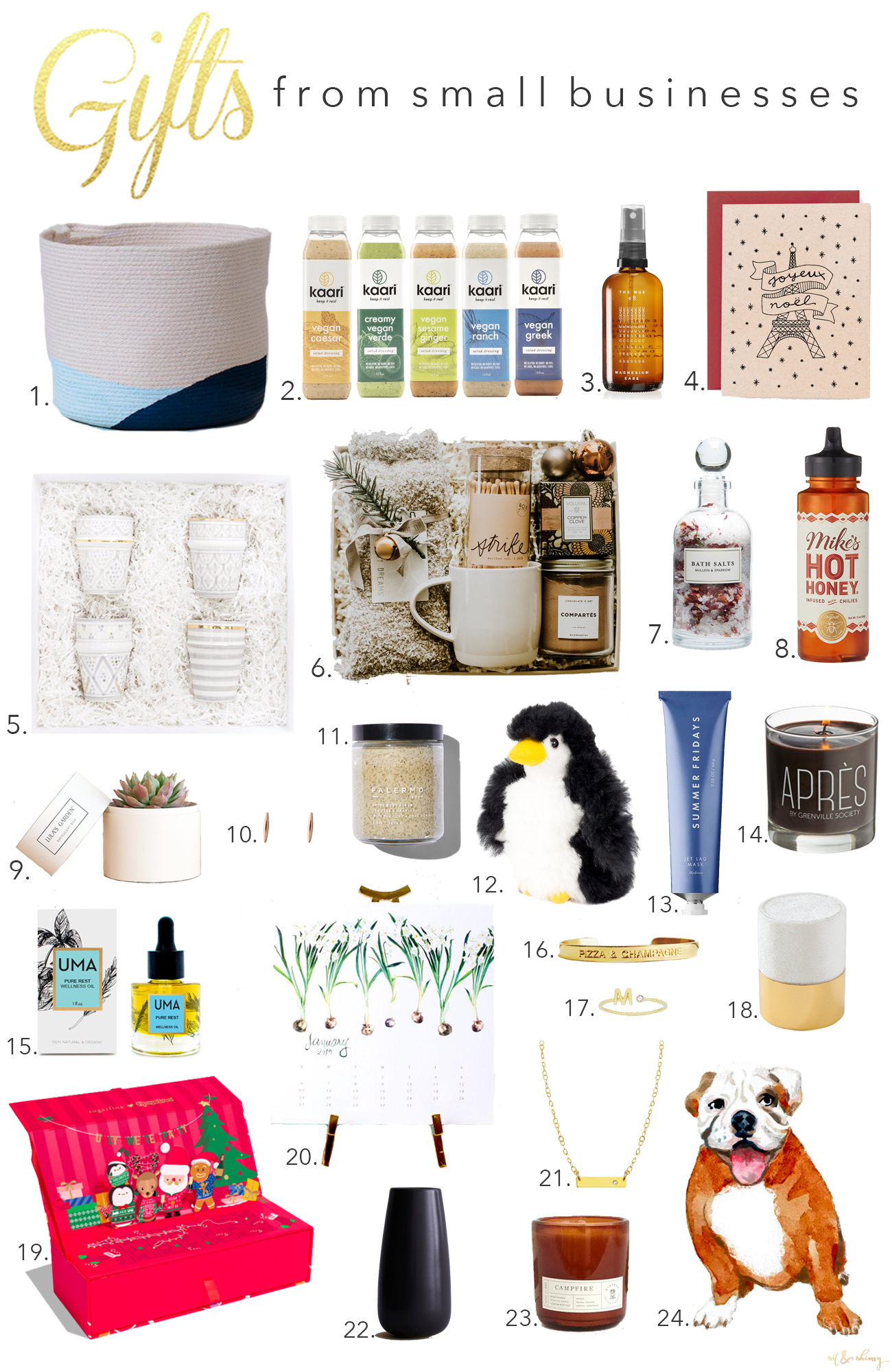 The Best Holiday Gifts from Small Businesses
