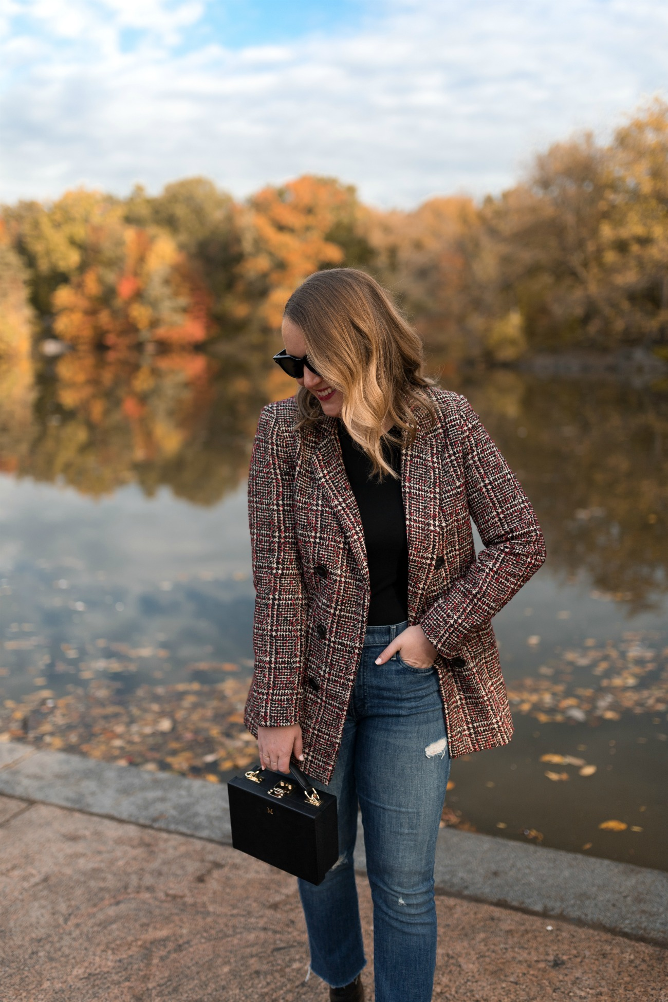Fall Outfit in Central Park I wit & whimsy