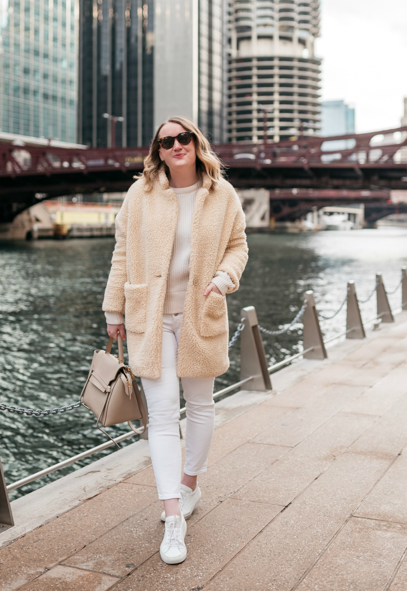 Winter Neutrals I Teddy coat I wit & whimsy