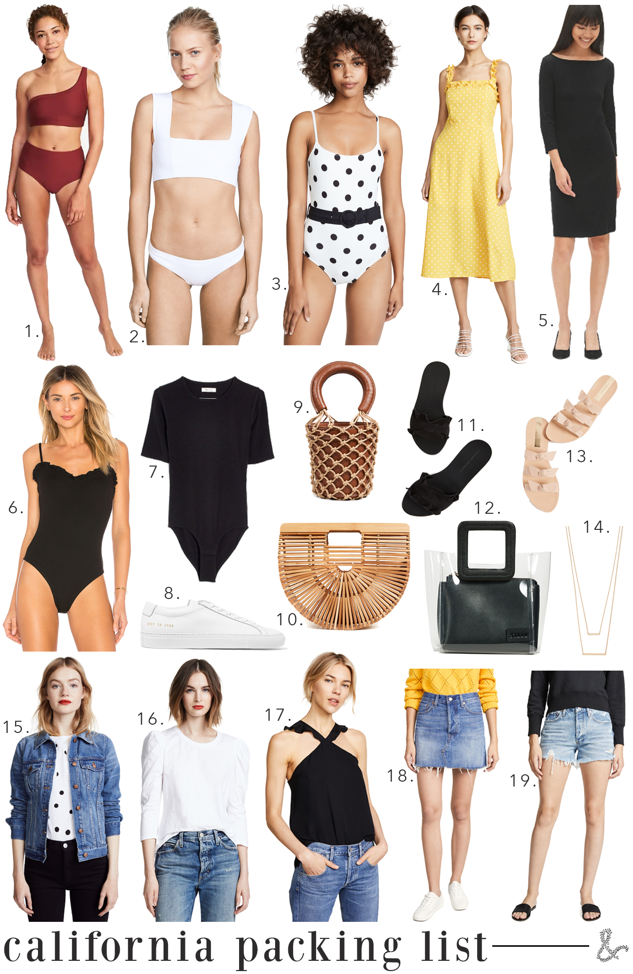 What to pack for Southern California
