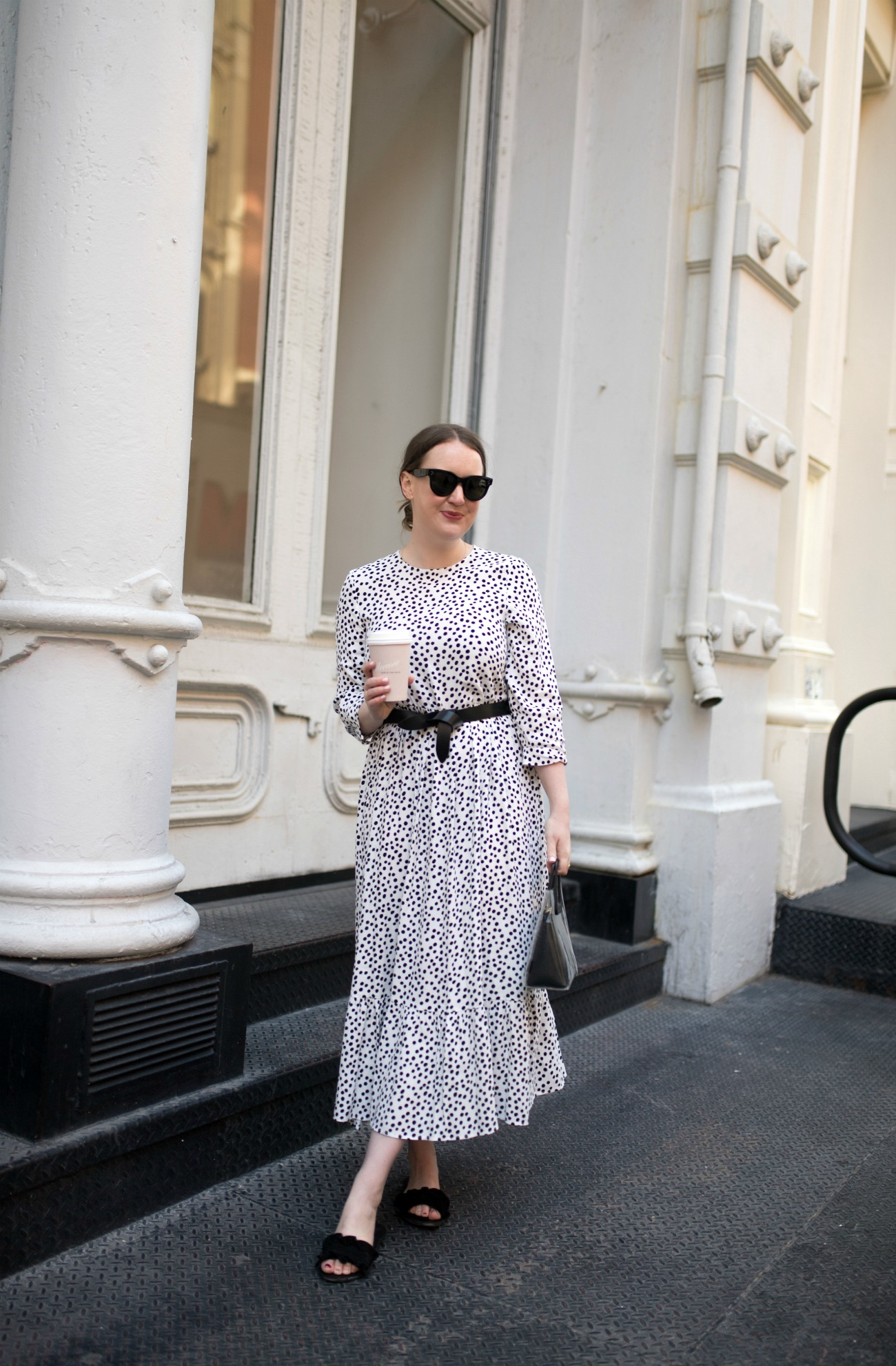Meghan Donovan I Polka Dot Dress I wit & whimsy