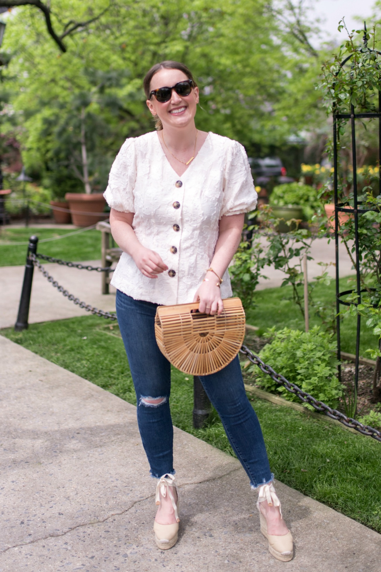 Easy Spring Outfit I wit & whimsy