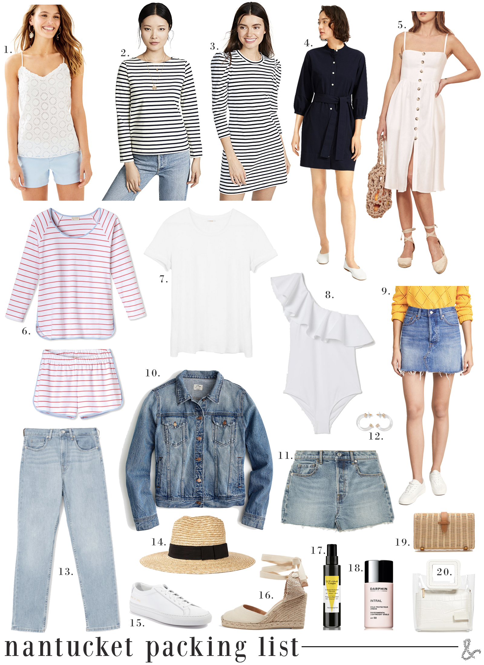 Nantucket Packing List I wit & whimsy