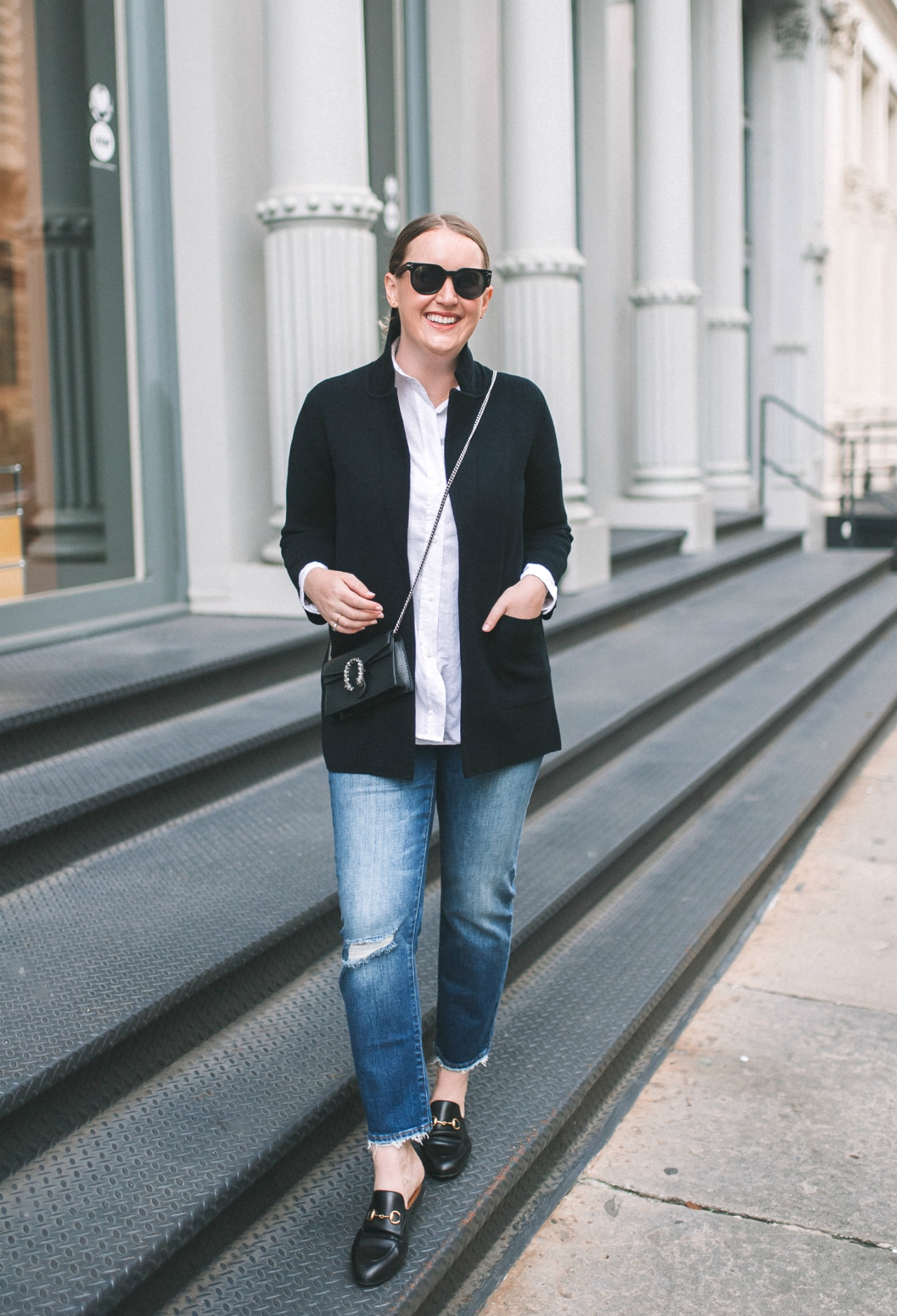 J.Crew Sweater Blazer Styling Ideas I wit & whimsy