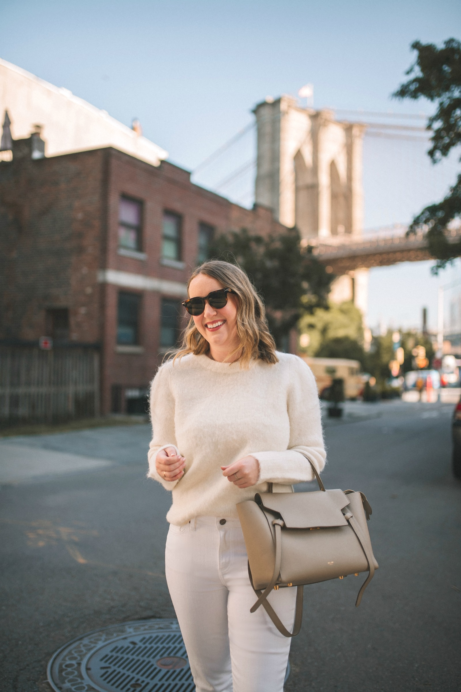 All White Fall Outfit I wit & whimsy